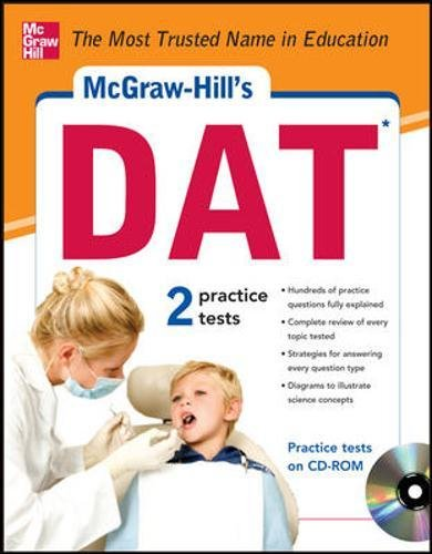 Mcgraw-Hill'S Dat With Cd-Rom (Mcgraw-Hill Test Prep)