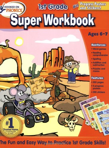 Hooked On Phonics 1St Grade Super Workbook