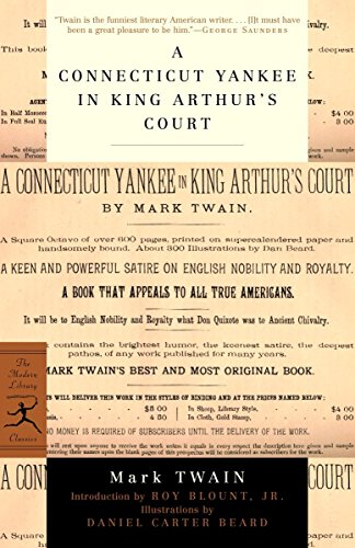A Connecticut Yankee In King Arthur'S Court (Modern Library Classics)