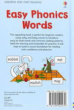 Easy Phonic Words (1.0 Very First Reading)