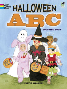 Halloween Abc Coloring Book (Dover Holiday Coloring Book)