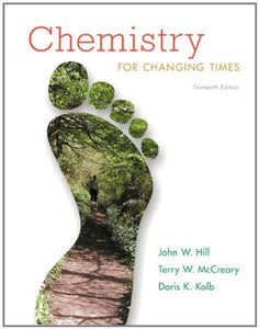 Chemistry For Changing Times Plus Masteringchemistry With Etext -- Access Card Package (13Th Edition)