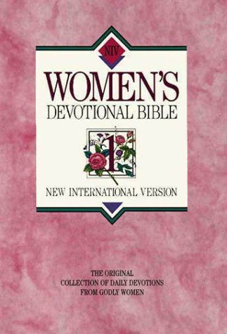 New International Version Women'S Devotional Bible Large Print Hardcover Pink