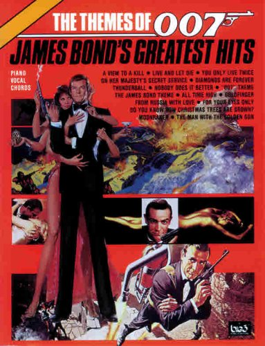 The Themes Of 007 -- James Bond'S Greatest Hits: Piano/Vocal/Chords