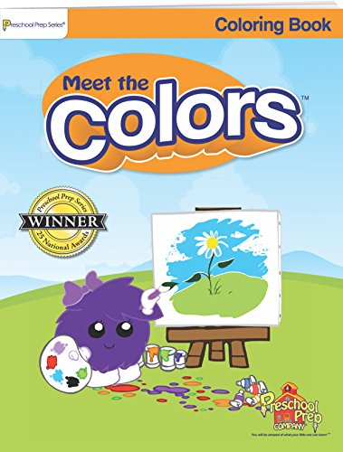 Meet The Colors - Coloring Book