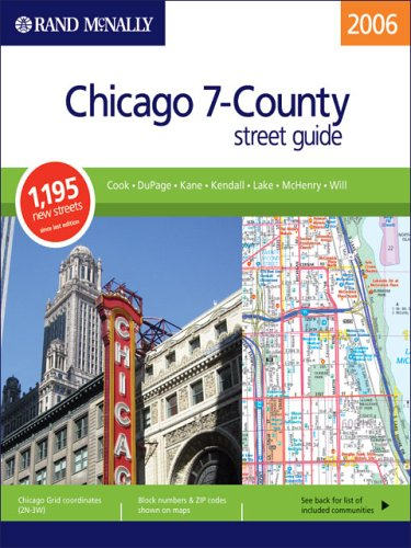 Rand Mcnally Chicago 7-County Street Guide (Rand Mcnally Chicago 7 County Steet Guide)