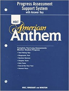 American Anthem: Program Assessment Support System With Answer Key