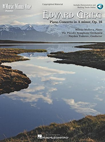 Grieg - Piano Concerto In A Minor, Op. 16: Piano Play-Along (Music Minus One (Numbered))