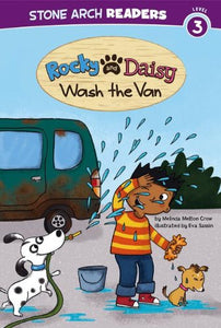 Rocky And Daisy Wash The Van (My Two Dogs)
