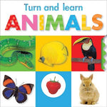 Turn And Learn Animals (Turn And Learn (Make Believe))