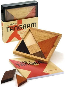 The Tao Of Tangram: History, Problems, Solutions, (Deluxe Book And Wood Tangram Set In Slipcase)