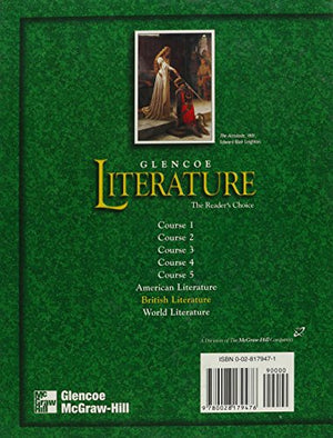 Glencoe Literature: British Literature Texas Edition: The Reader'S Choice