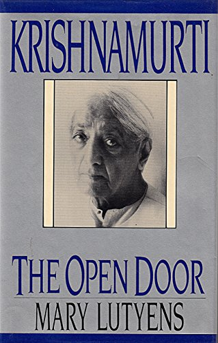Krishnamurti: The Open Door