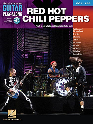 Red Hot Chili Peppers: Guitar Play-Along Volume 153 (Hal Leonard Guitar Play-Along)