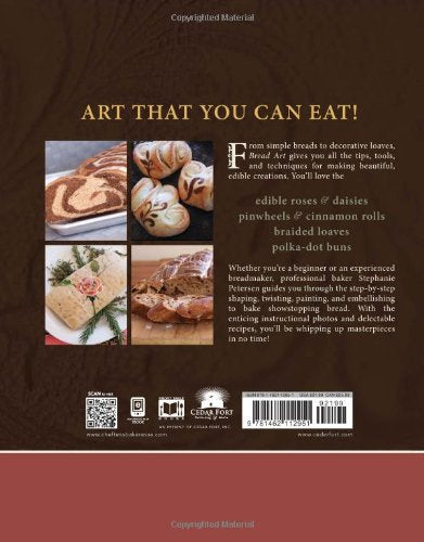 Bread Art: Braiding, Decorating, And Painting Edible Bread For Beginners