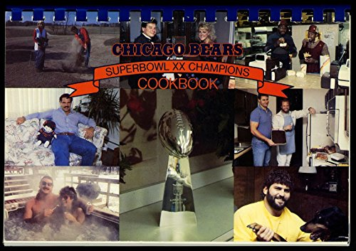 Chicago Bears Superbowl Xx Champions Cookbook