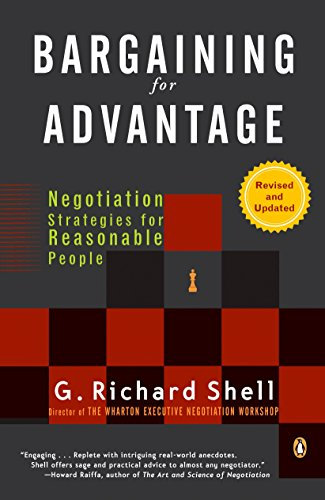 Bargaining For Advantage: Negotiation Strategies For Reasonable People 2Nd Edition