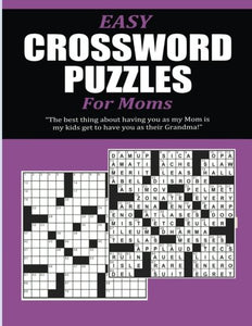 Easy Crossword Puzzles For Moms