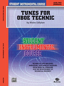 Student Instrumental Course Tunes For Oboe Technic, Level 2