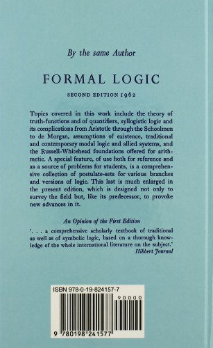 Logic And The Basis Of Ethics