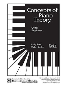 Cptolder - Concepts Of Piano Theory - Older Beginner