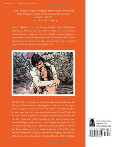 The Manara Library Volume 5: More Adventures Of Guiseppe Bergman