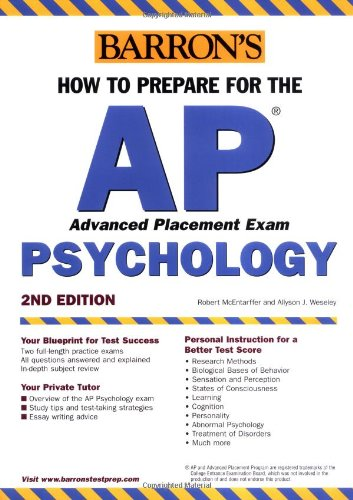 How To Prepare For The Ap Psychology (Barron'S Ap Psychology Exam)