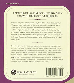 Basket Of Plums Songbook: Music In The Tradition Of Thich Nhat Hanh