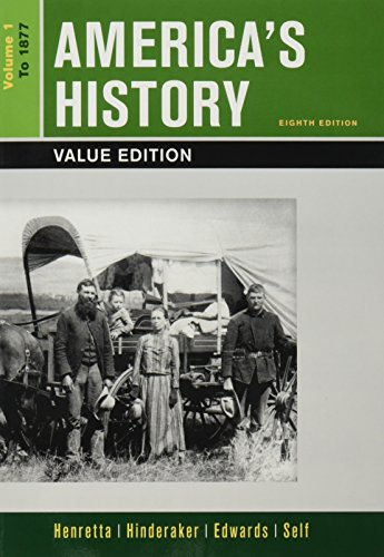 America'S History, Value Edition, Volume 1 8E & Launchpad For America'S History Volume I & America: A Concise History, Volume I 6E (Six Month Access)