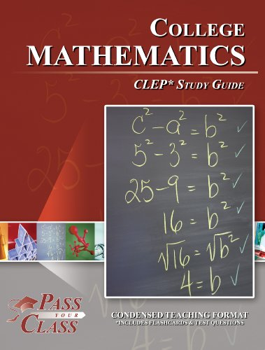 Clep College Mathematics Study Guide (Perfect Bound)
