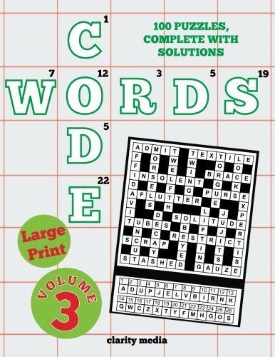 Large Print Code Words Volume 3