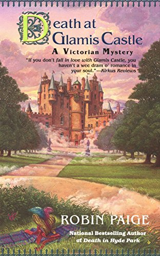 Death At Glamis Castle (Robin Paige Victorian Mysteries, No. 9)