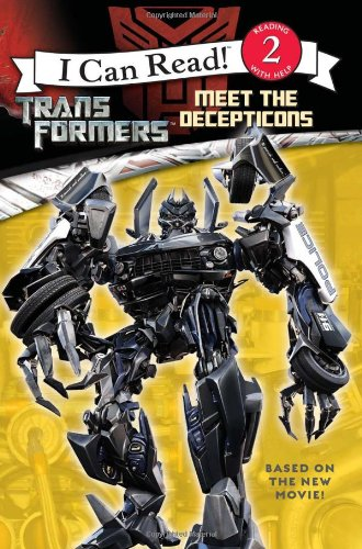 Transformers: Meet The Decepticons (Transformers, I Can Read, Level 2)