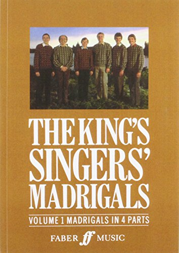 The King'S Singers' Madrigals: Madrigals In 4 Parts