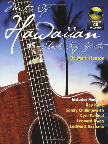 Masters Of Hawaiian Slack Key Guitar Bk/Cd