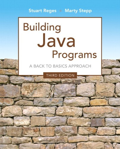 Building Java Programs: A Back To Basics Approach Plus Myprogramminglab With Pearson Etext -- Access Card Package (3Rd Edition)