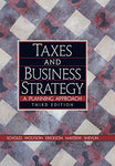 Taxes And Business Strategy: A Planning Approach (3Rd Edition)