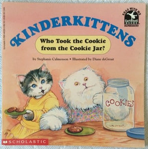 Kinderkittens: Who Took The Cookie From The Cookie Jar? (Read With Me Paperbacks)