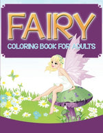 Fairy Coloring Book For Adults