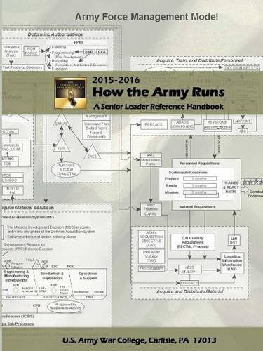 How The Army Runs: A Senior Leader Reference Handbook, 2015-2016 (30Th Edition)