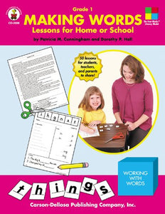 Making Words: Lessons For Home Or School, Grade 1