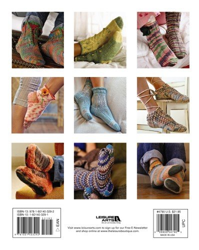 Knitted Comfort For The Sole  (Leisure Arts #4790)