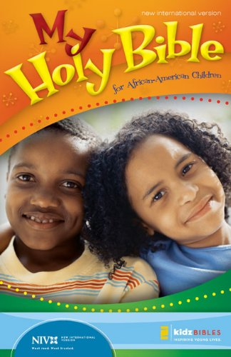 Niv, My Holy Bible For African-American Children, Large Print, Hardcover