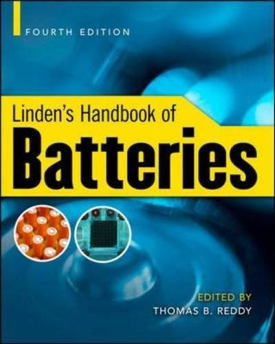 Linden'S Handbook Of Batteries, 4Th Edition