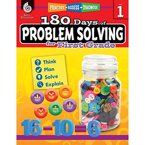 180 Days Of Problem Solving For First Grade (180 Days Of Practice)