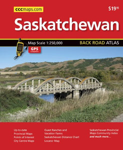 Saskatchewan Back Road Atlas