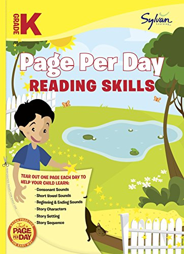 Kindergarten Page Per Day: Reading Skills (Sylvan Page Per Day Series, Language Arts)
