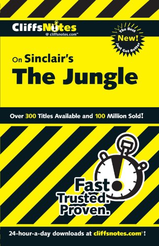 Cliffsnotes On Sinclair'S The Jungle (Frommer'S)