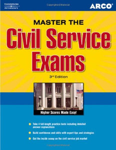 Master The Civil Service Exam 3Rd Ed