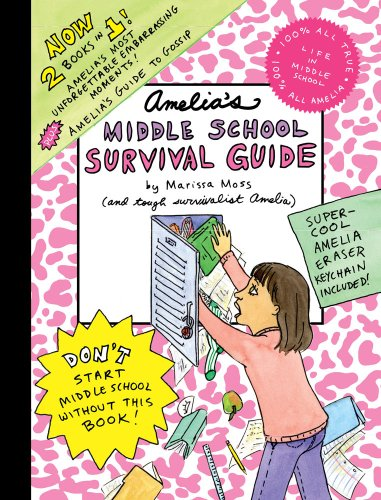 Amelia'S Middle School Survival Guide: Amelia'S Most Unforgettable Embarrassing Moments, Amelia'S Guide To Gossip